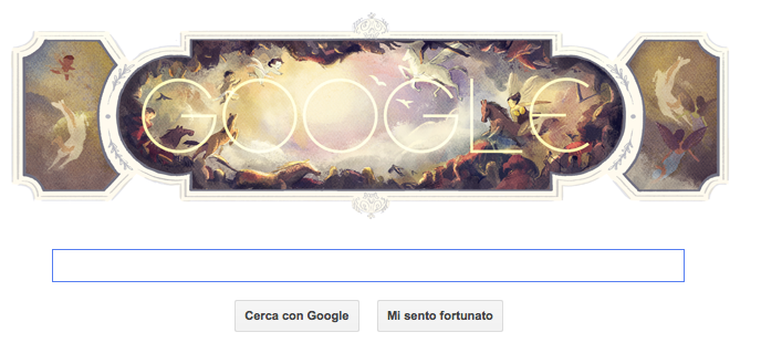 Google Doodle Tiepolo