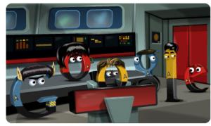 Star Trek Google Doole Stefano Paganini