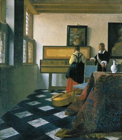 Vermeer Music Lesson