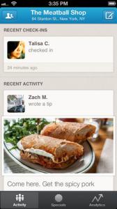 foursquare business