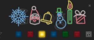 google doodle xmas 2011 on