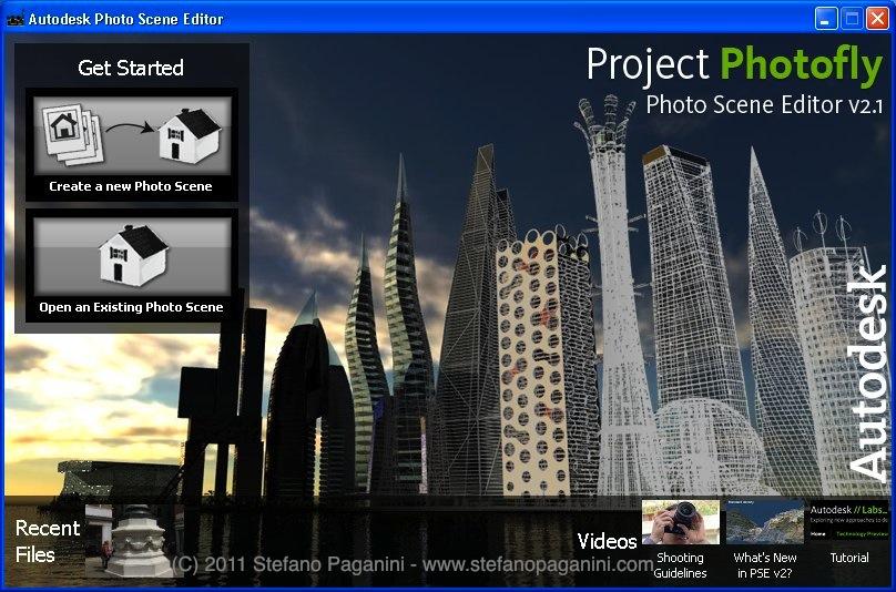 photofly scene editor