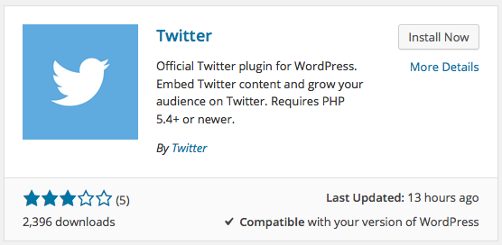 twitter wordpress plugin 2015 2