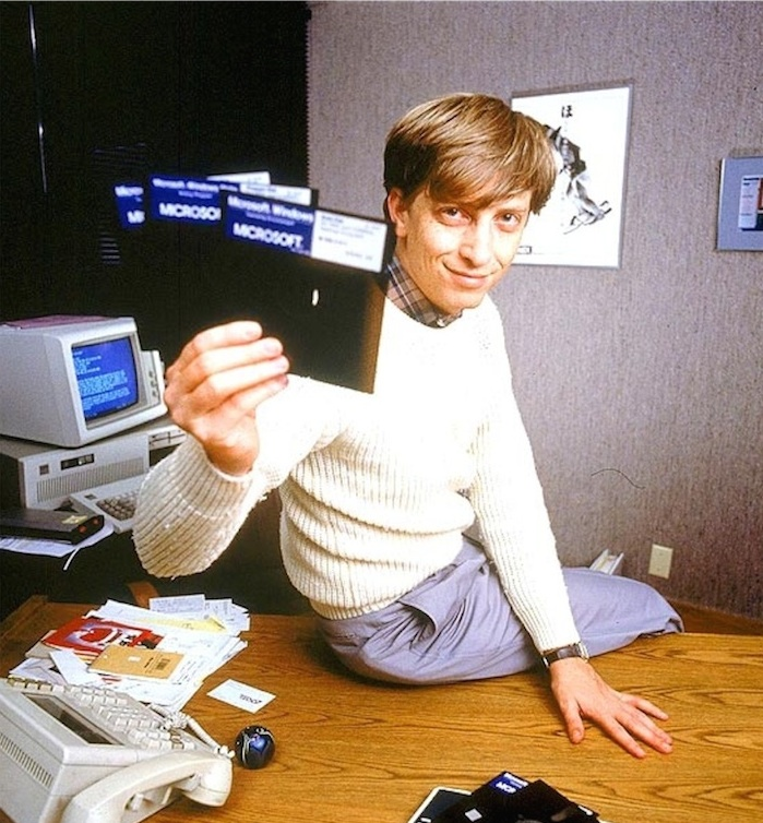 young bill gates microsoft